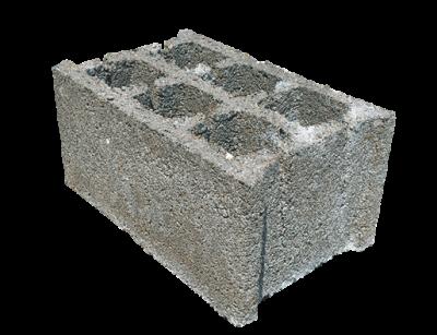 Concrete block 25