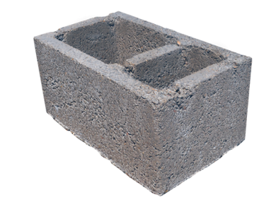 Concrete smokestack